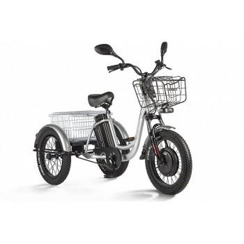 Трицикл Eltreco Porter Fat 700 Серебристый