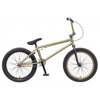 "Велосипед Teach Team BMX Twen 20"" золотой 2020 (Cr-Mo) хром-молибден"